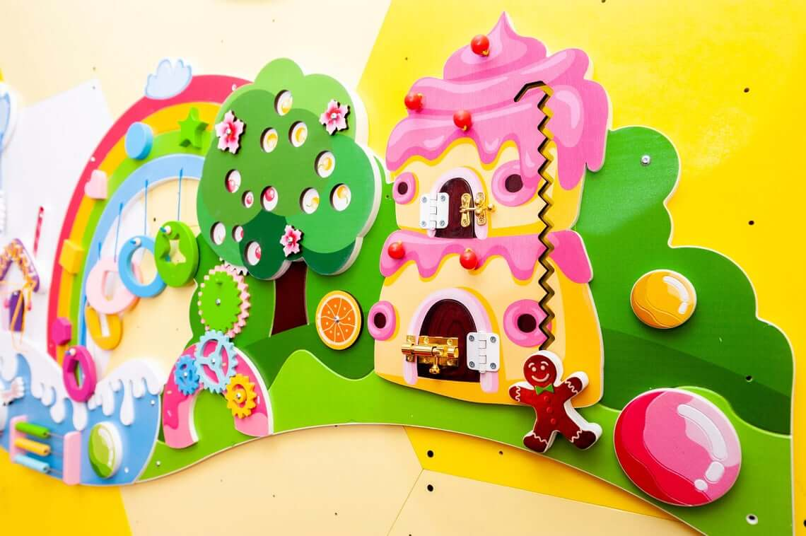 Candyland busy board